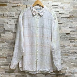 Tommy Bahama Relax Pastel Plaid Long Sleeve